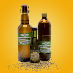 Рослинні олії першого холодного віджиму. Десналенд; Склад: Конопля; Вид віджиму: Першого холодного віджиму; Упаковка: Скляна пляшка; Об'є́м: 1 літр